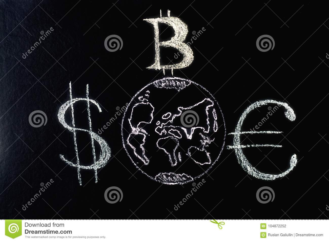 The Character Is The Leader Of Bitcoin Over Traditional Currencies