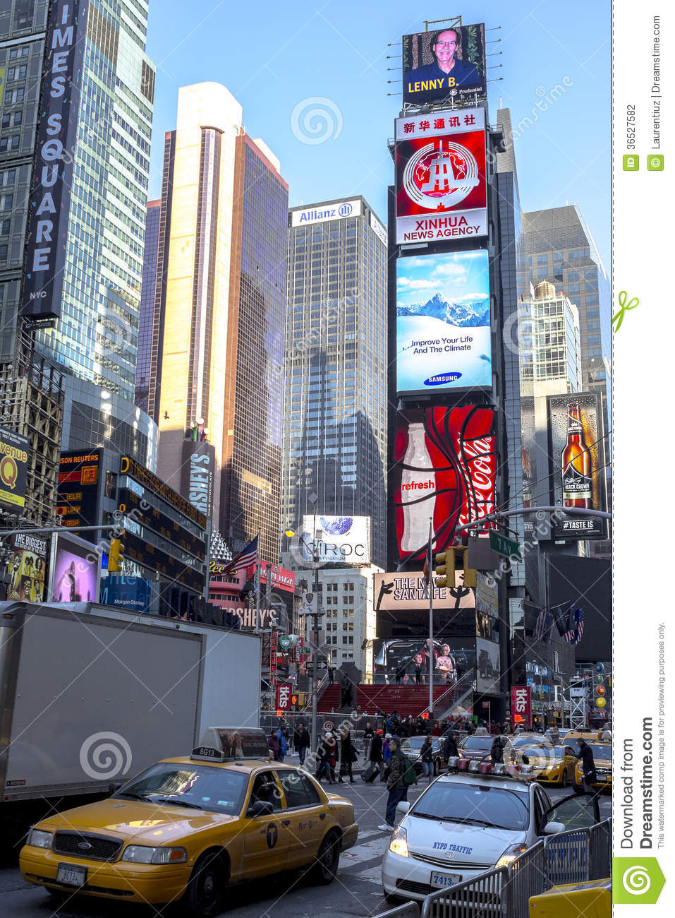 Characteristic view of times square editorial photography for Iconic places in new york