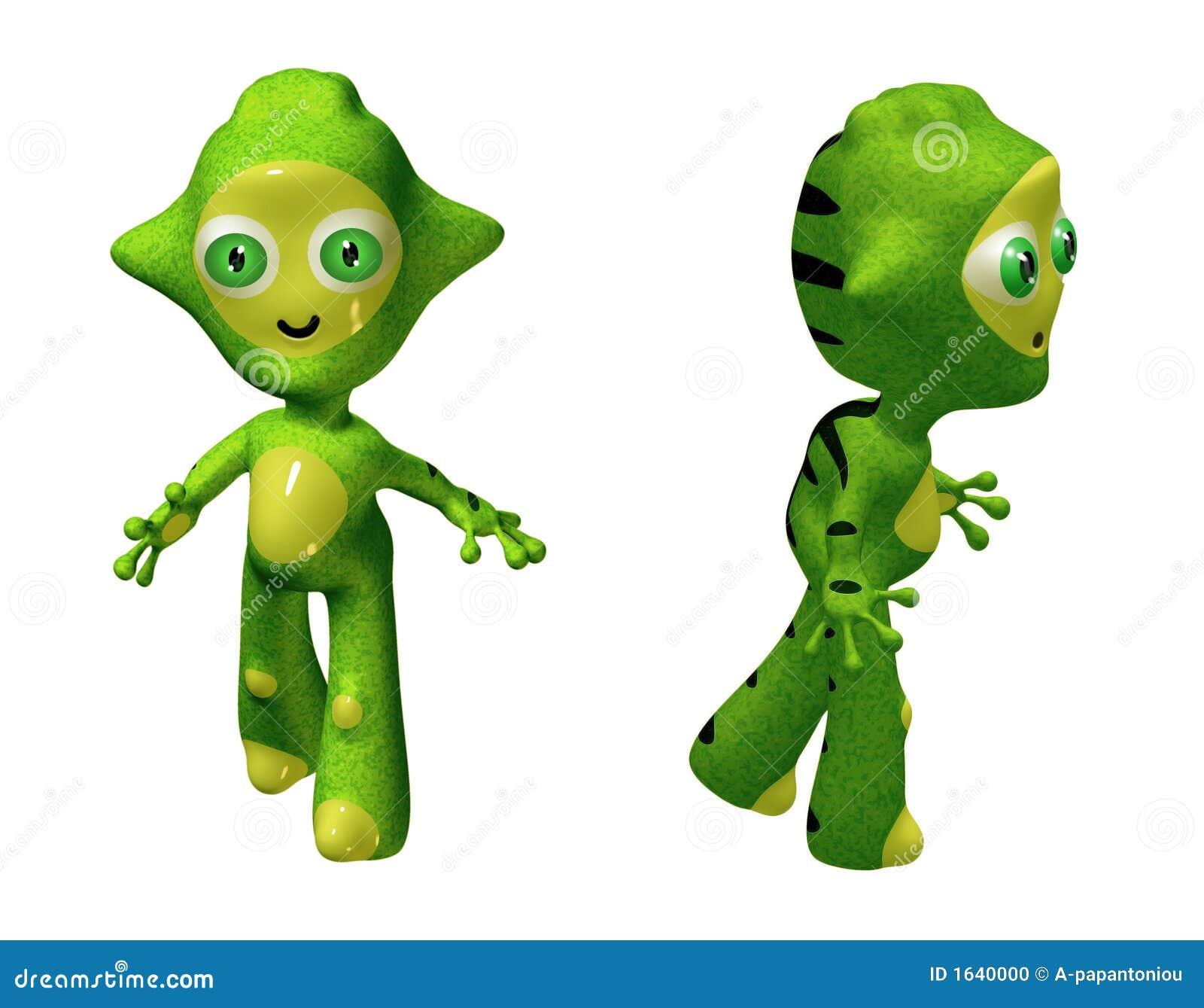Charakter zabawka obcych 3 d