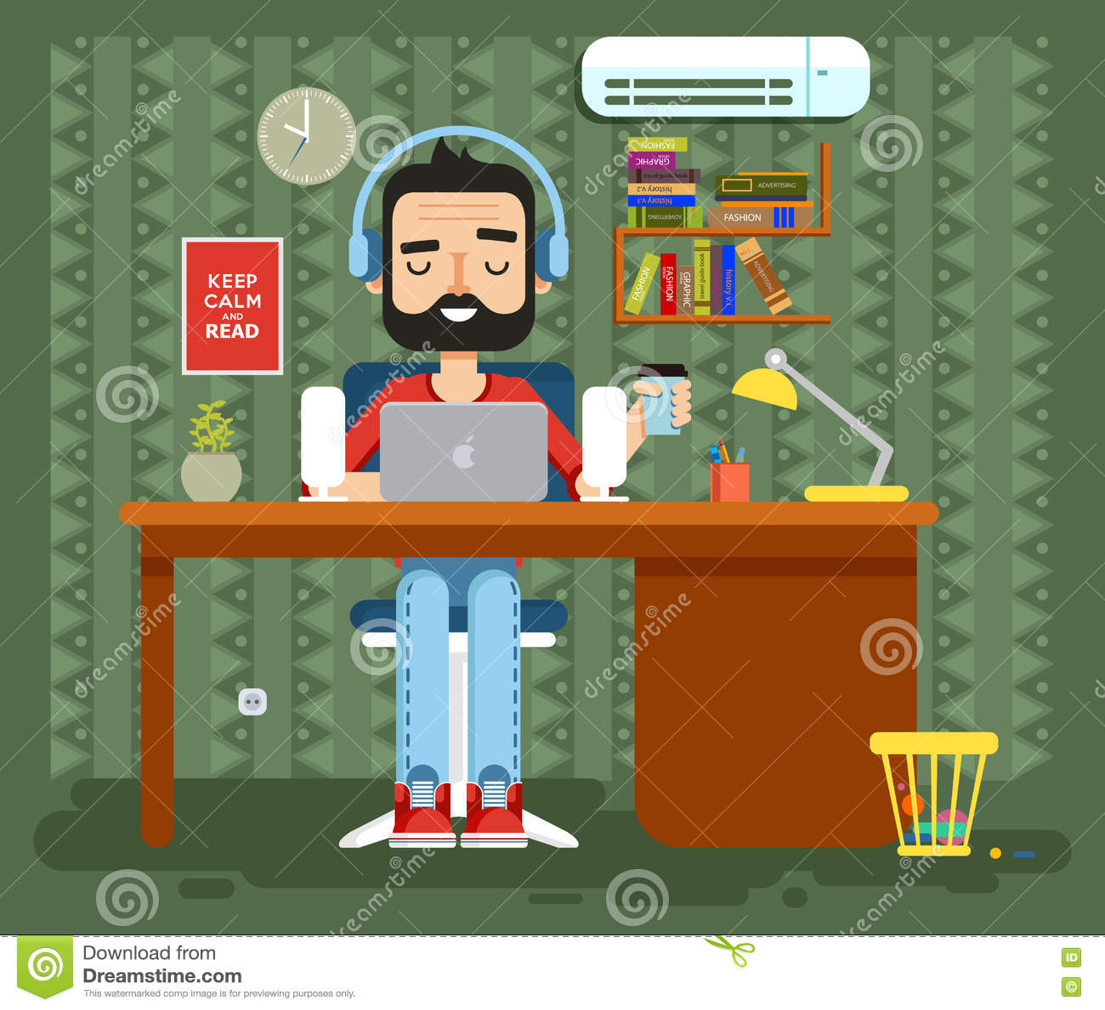 Charakterprogrammierer, Werbetexter, Gamer, Freiberufler, Designer ...