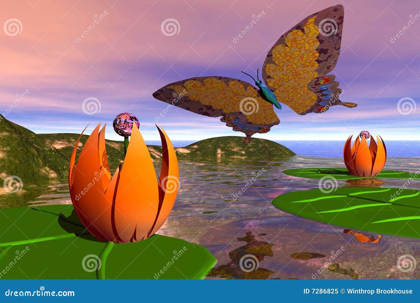 Charca de la mariposa