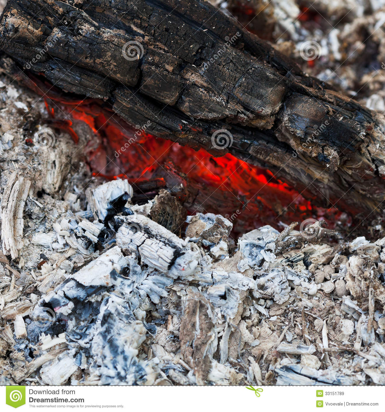 Charcoal And Ash From Fire Stock Image Image Of Charcoal
