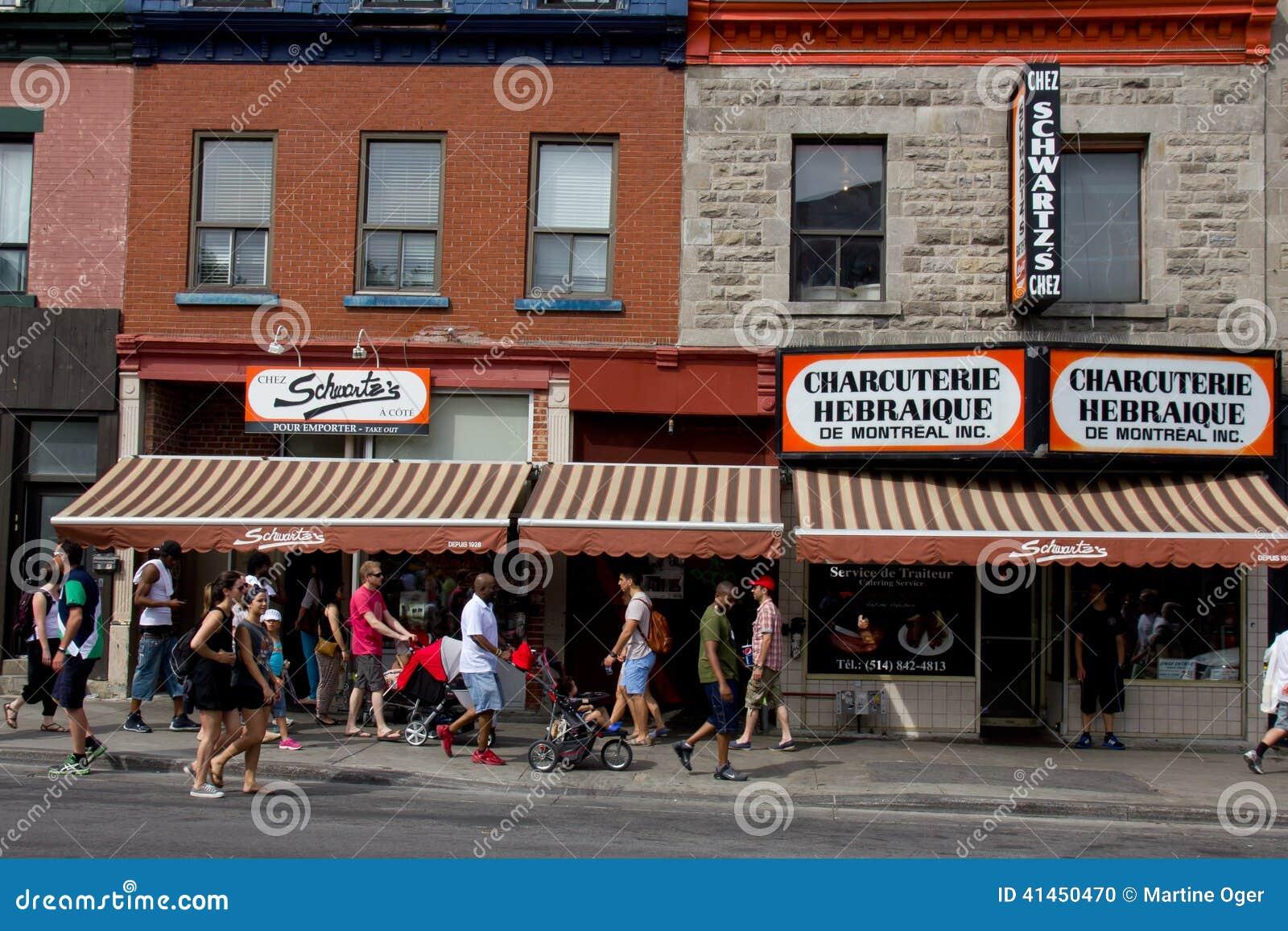 Charcuter A Del Hebreo De Montreal Imagen Editorial Ilustraci N  # Muebles En Hebreo