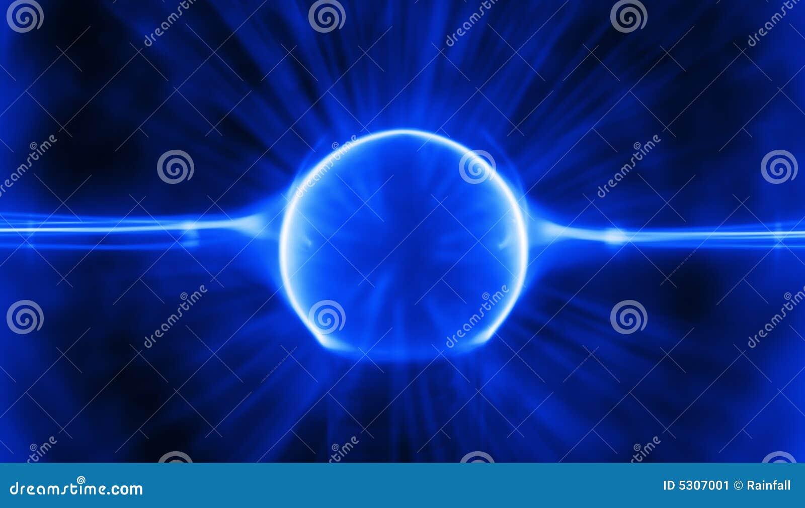 Charge bleue de plasma