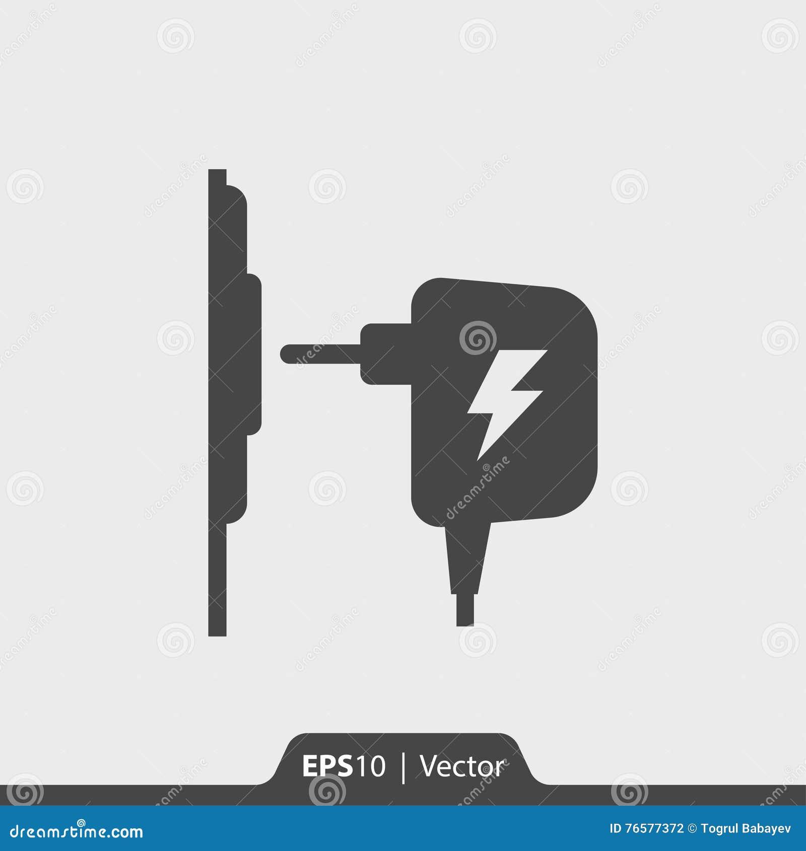 Charger symbol dolgular charger ac adapter icon for web and mobile stock illustration buycottarizona