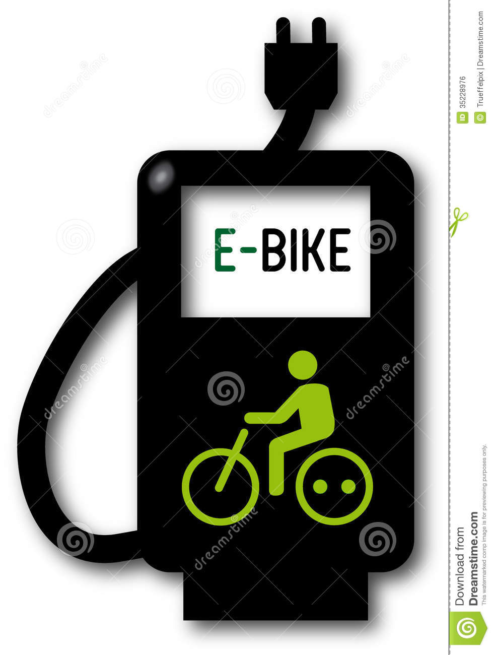 Charging Point, Electric Bicycle Royalty Free Stock Image - Image ...