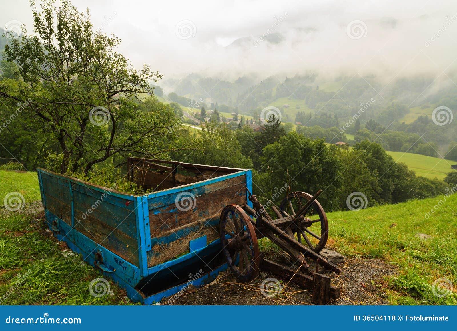 Chariot de ferme