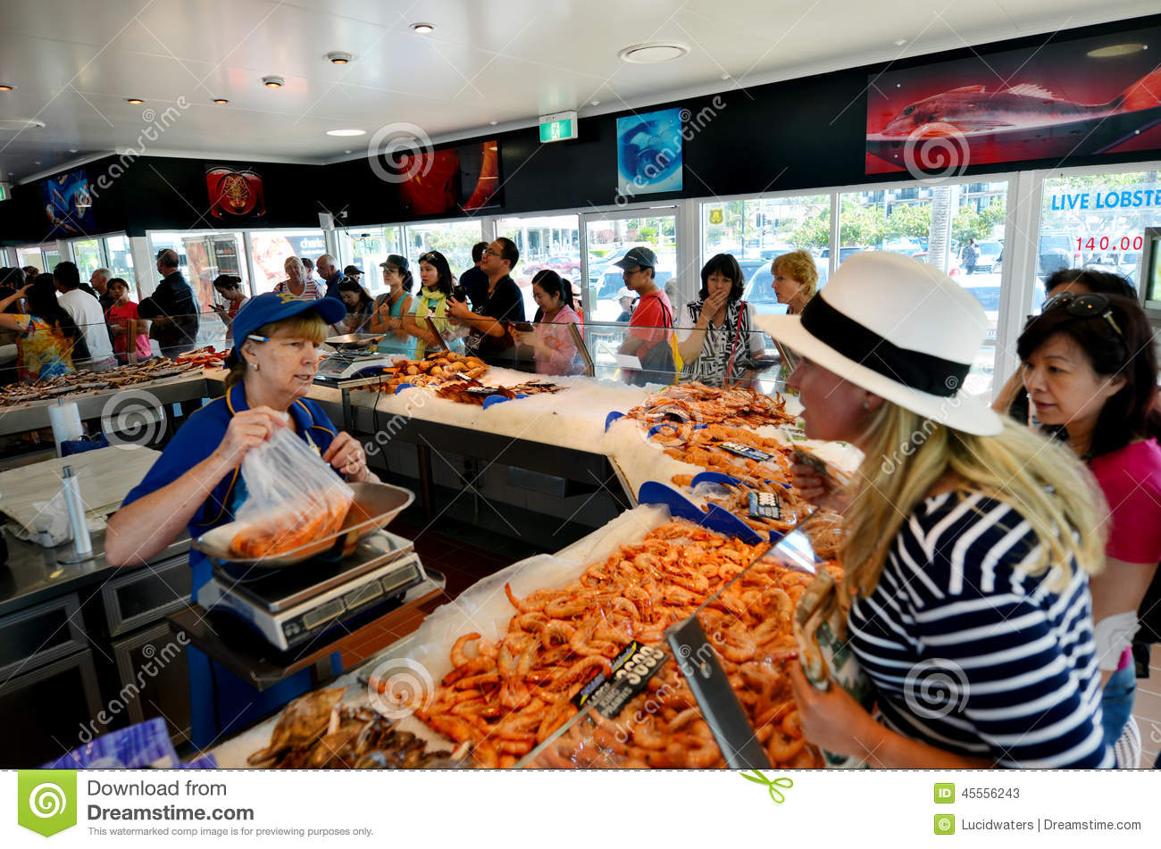 Charis seafood store in gold coast australia editorial for Australian cuisine brisbane