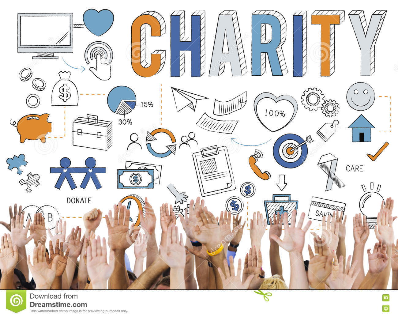 Charity Help Give Care Hope Donate Concept