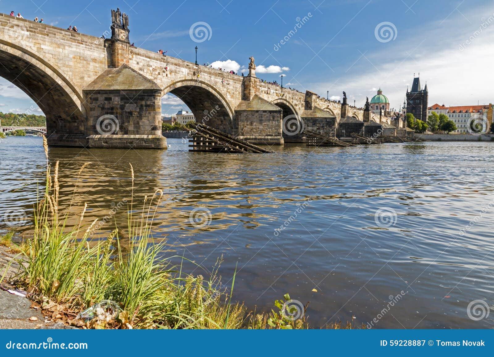 Charles Bridge famoso