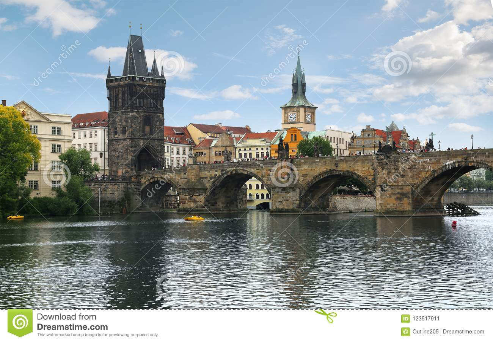 Charles Bridge Karlov Most a Praga, repubblica Ceca