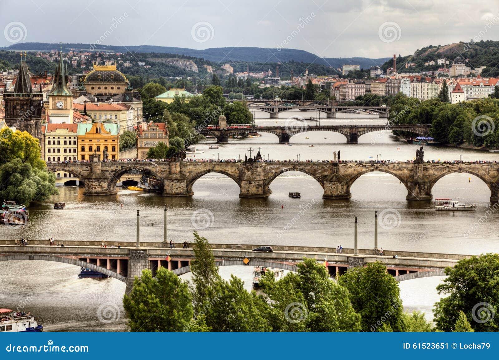 Charles Bridge in Prag
