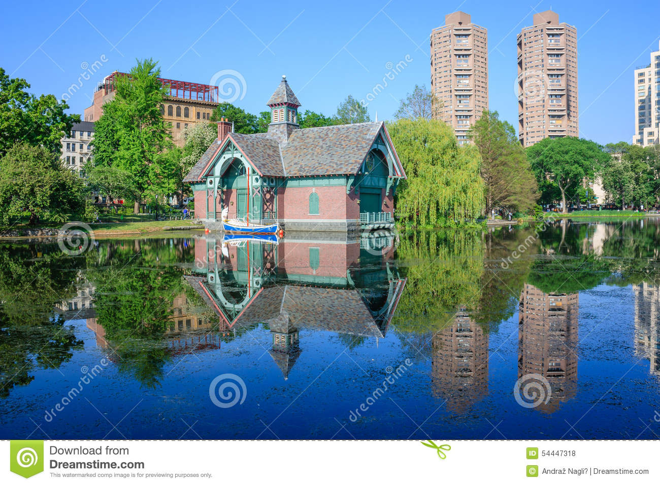 Charles A. Dana Discovery Center - Central Park, New York City Stock Photo - Image: 54447318