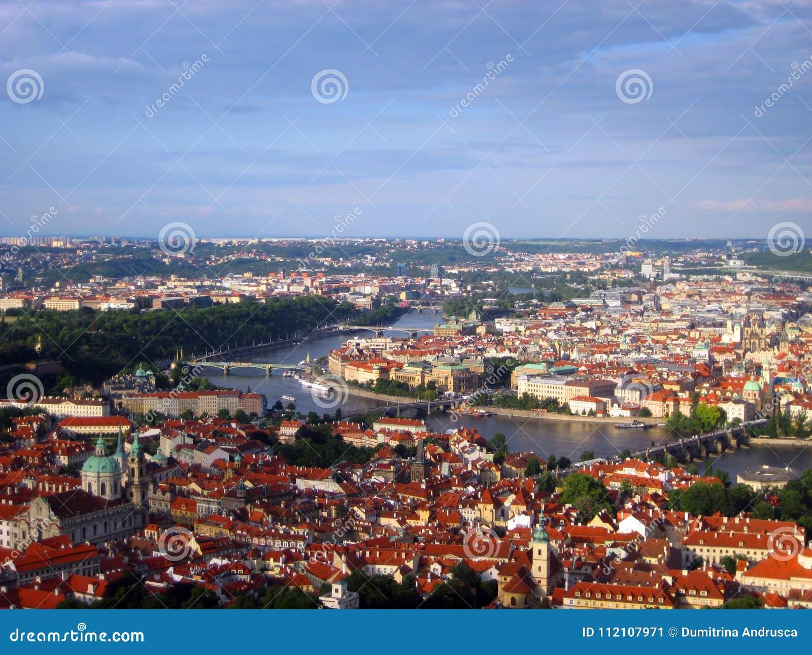 Charles most nad Vltava rzeką