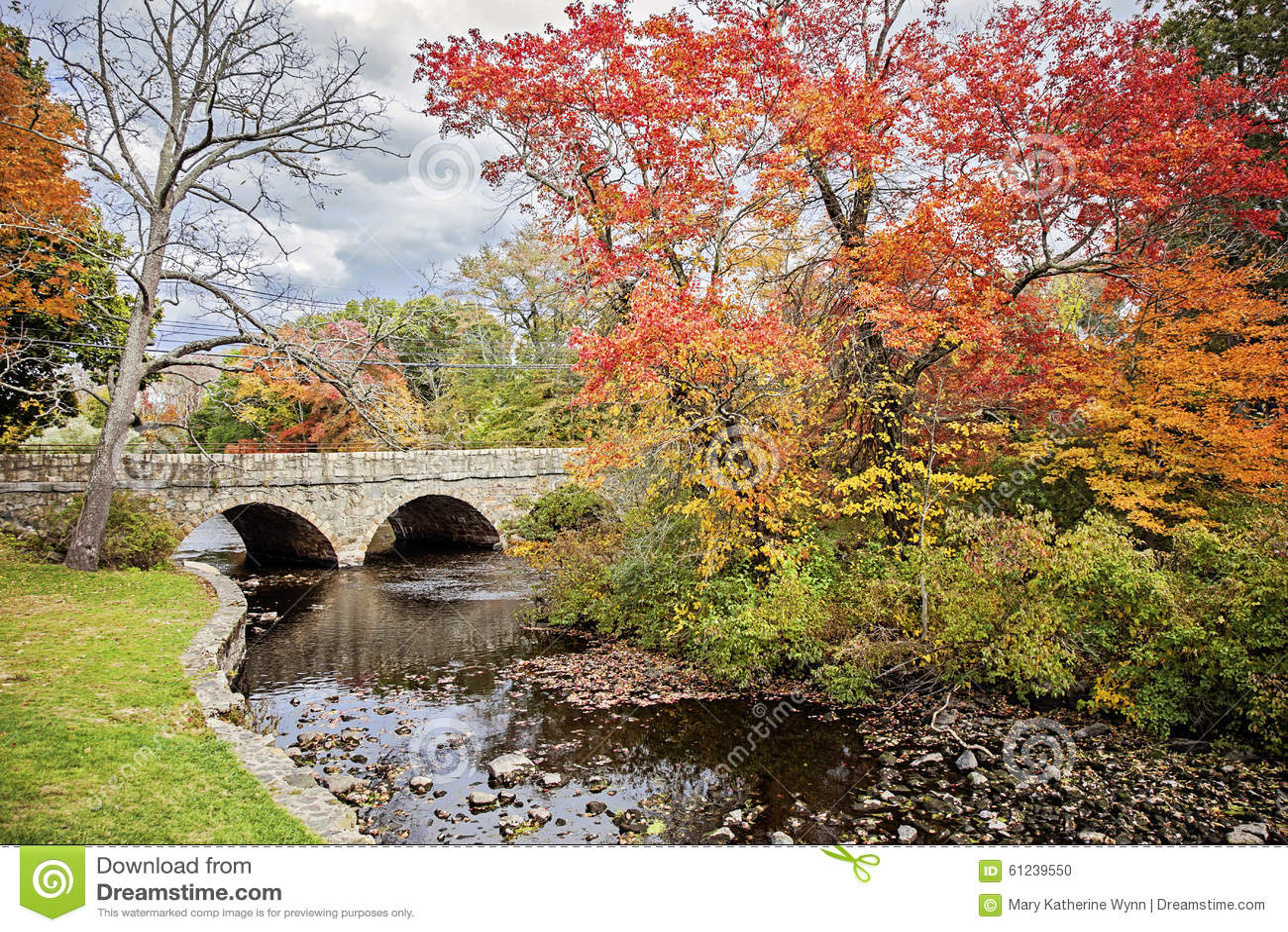 Charles River in de Herfst