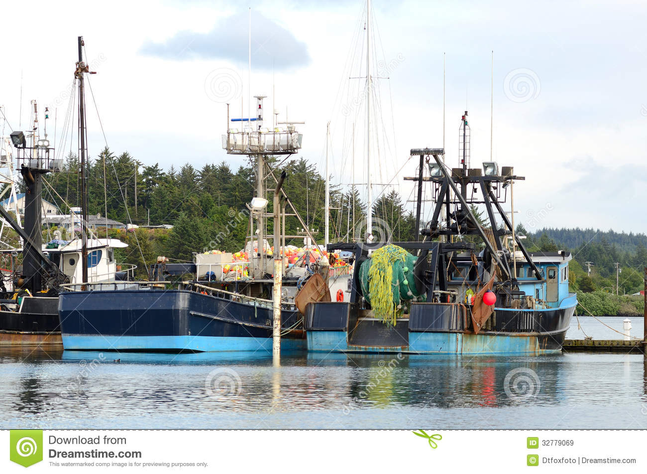 Charleston stock image image of dock harbor ocean for Oregon free fishing