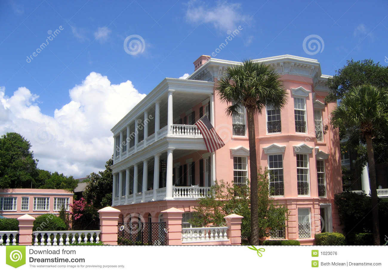 Charleston House Royalty Free Stock Image Image 1023076