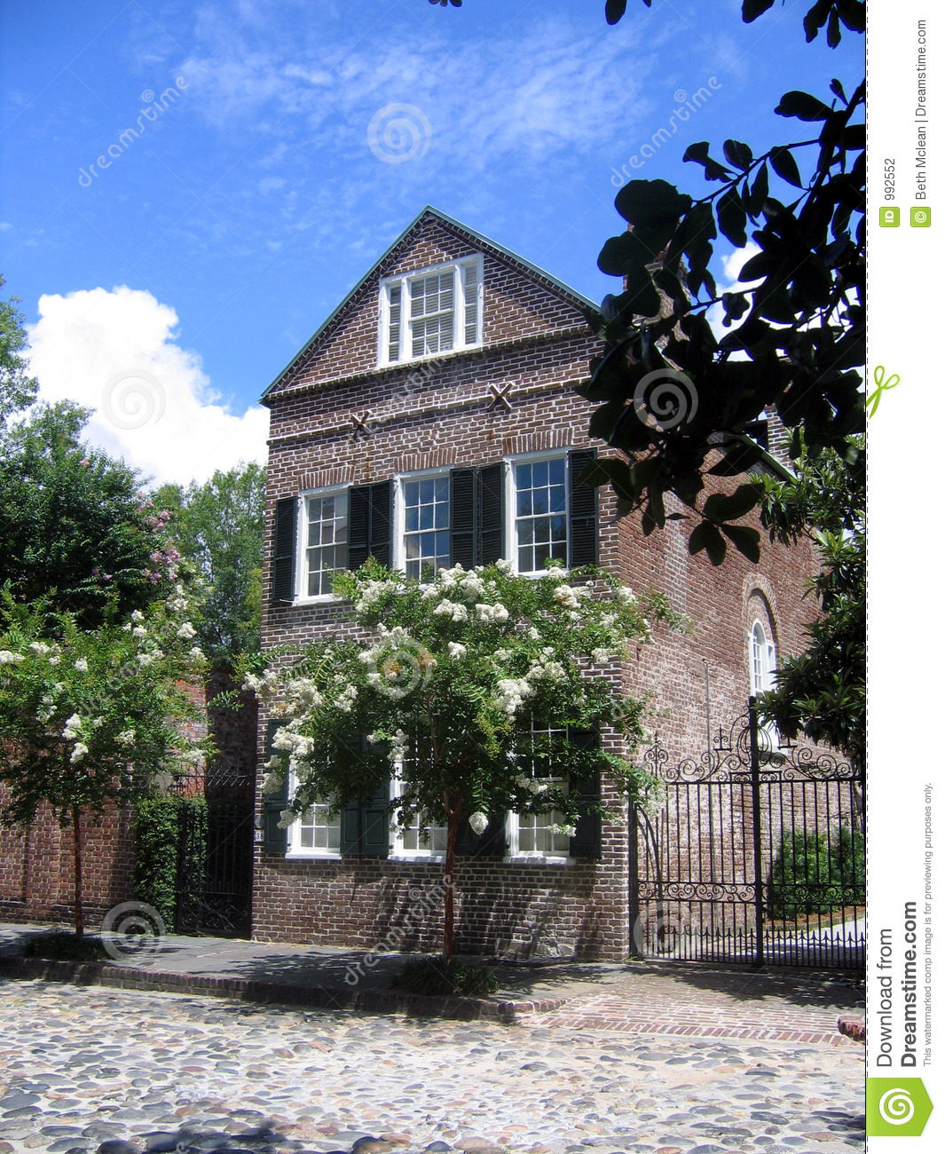 Charleston House Stock Photography Image 992552
