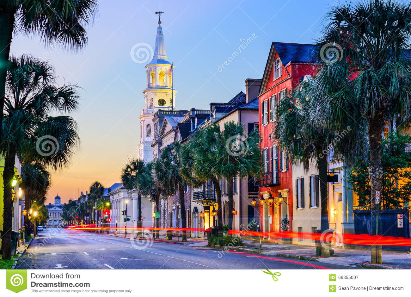 Charleston la Caroline du Sud