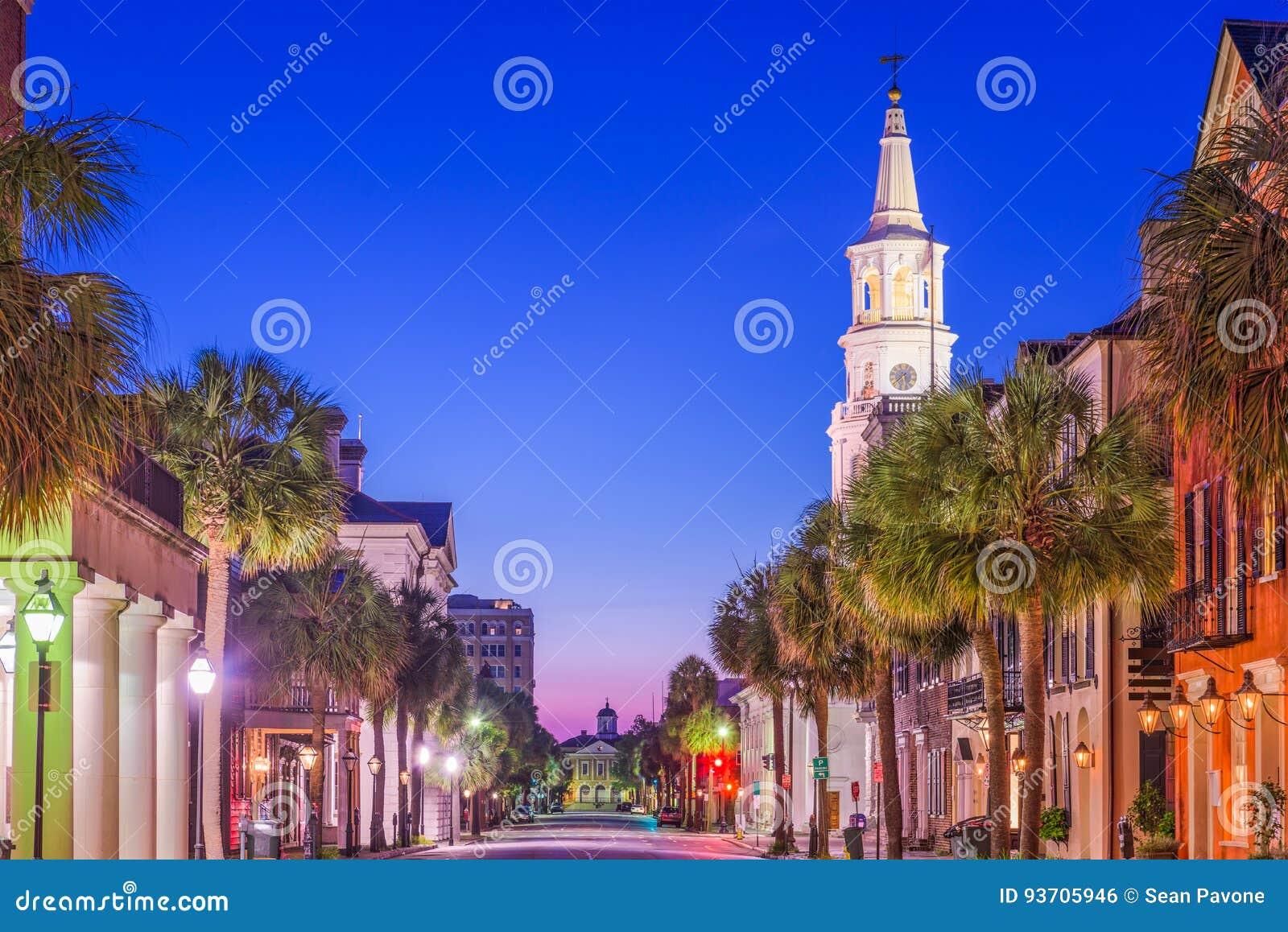 Charleston, la Caroline du Sud, Etats-Unis