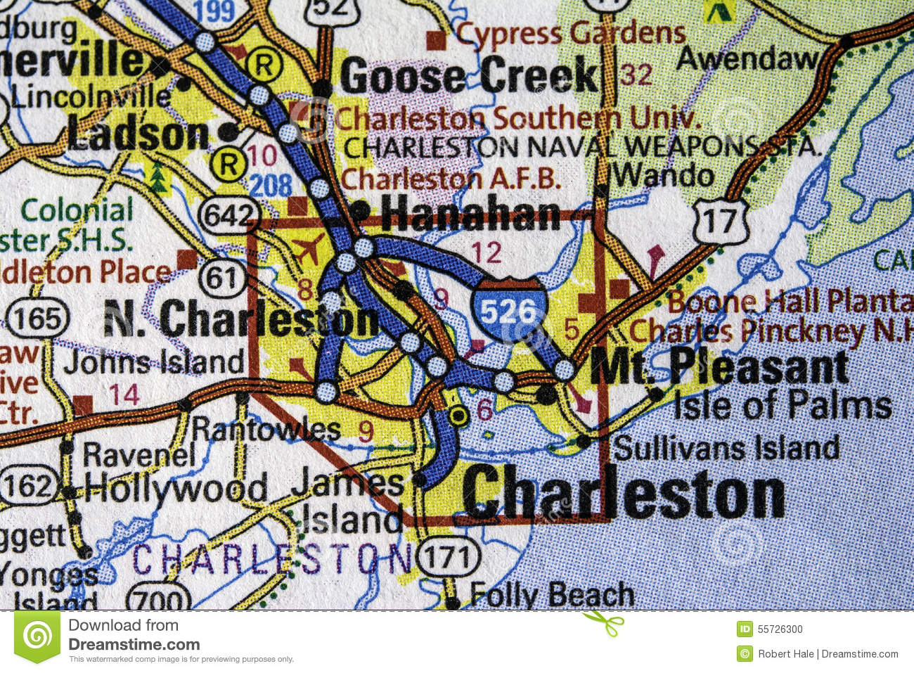 Charleston stock photo Image of charleston mass south 55726300