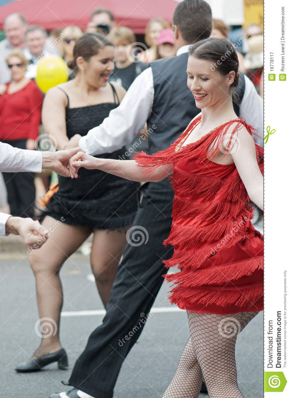 Charleston Street Dancing editorial photography  Image of