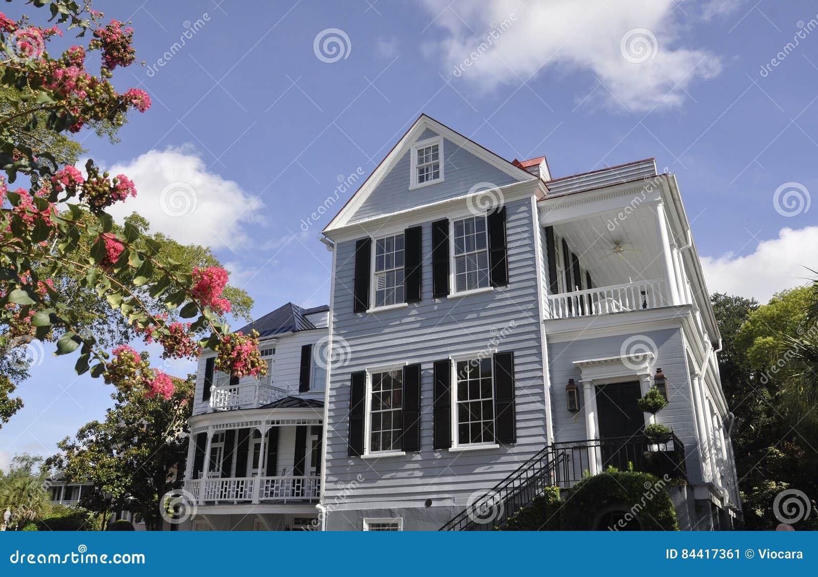 CharlestonSC, Augusti 7th: Historiskt hus från charleston i South Carolina