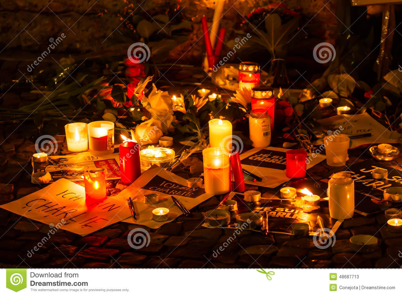 Charlie hebdo terrorism attack editorial stock photo Design attack berlin