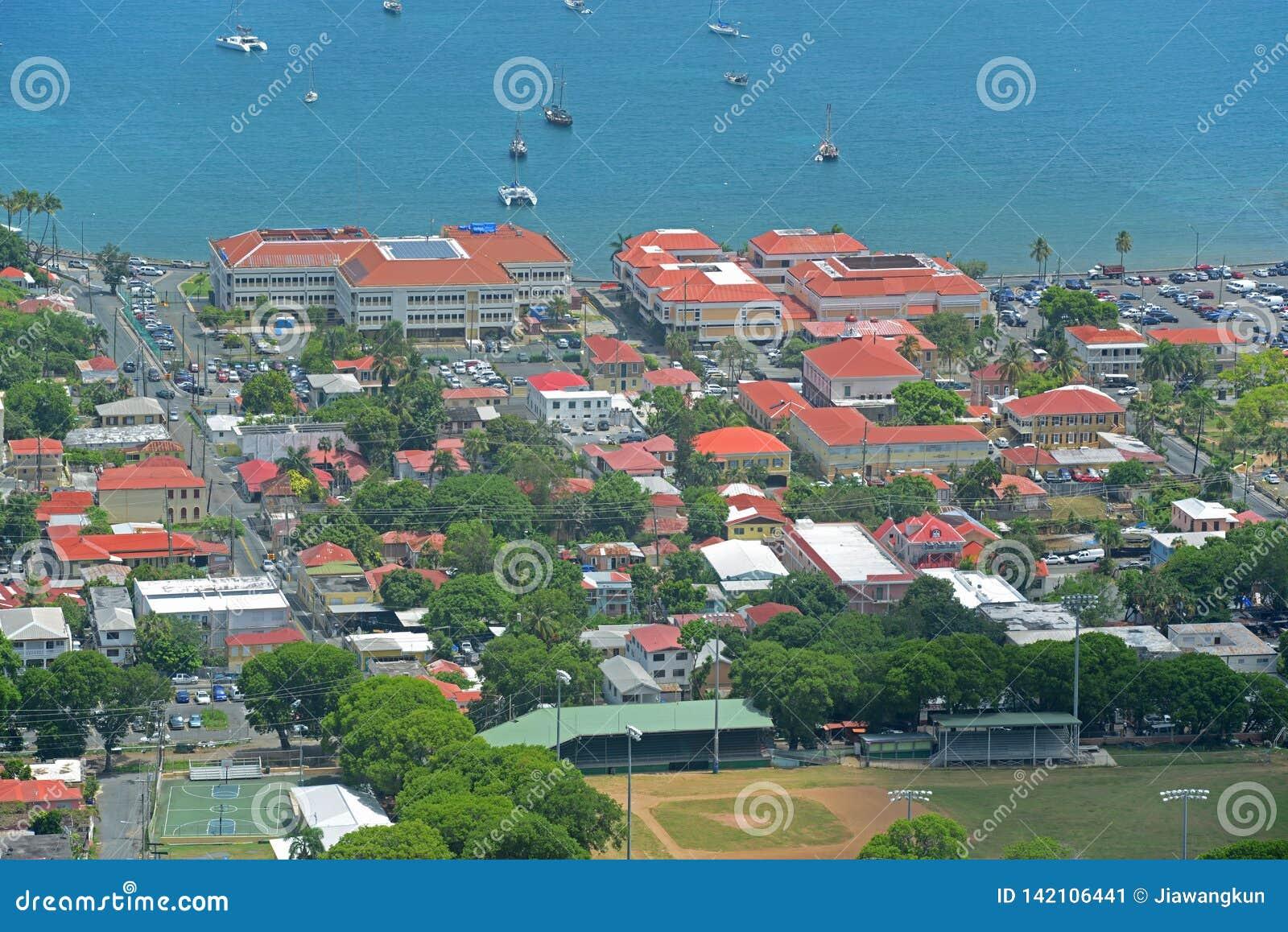 Charlotte Amalie, Heilige Thomas Island, de Maagdelijke Eilanden van de V.S.