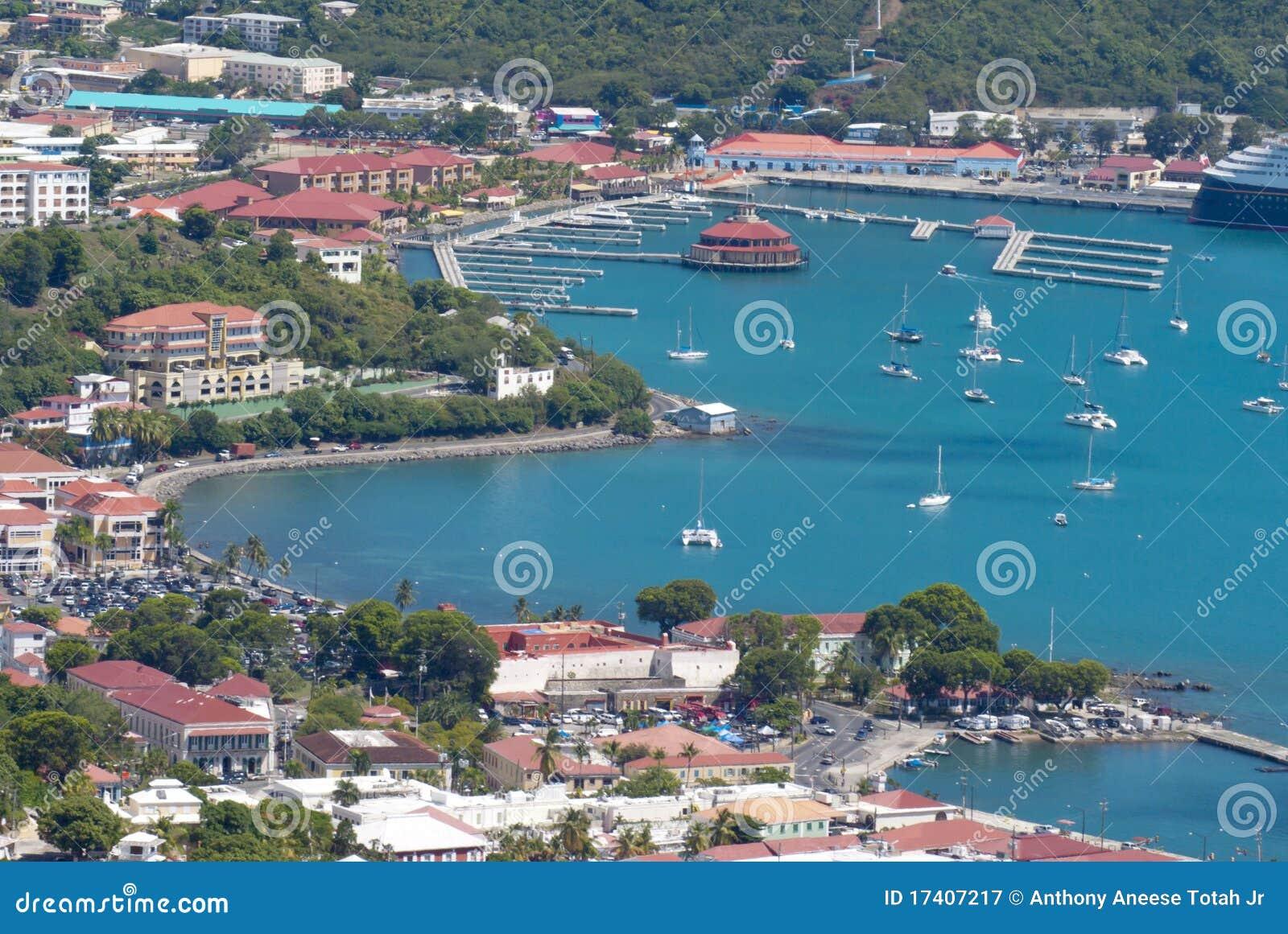 Charlotte Amalie, rue Thomas, USVI