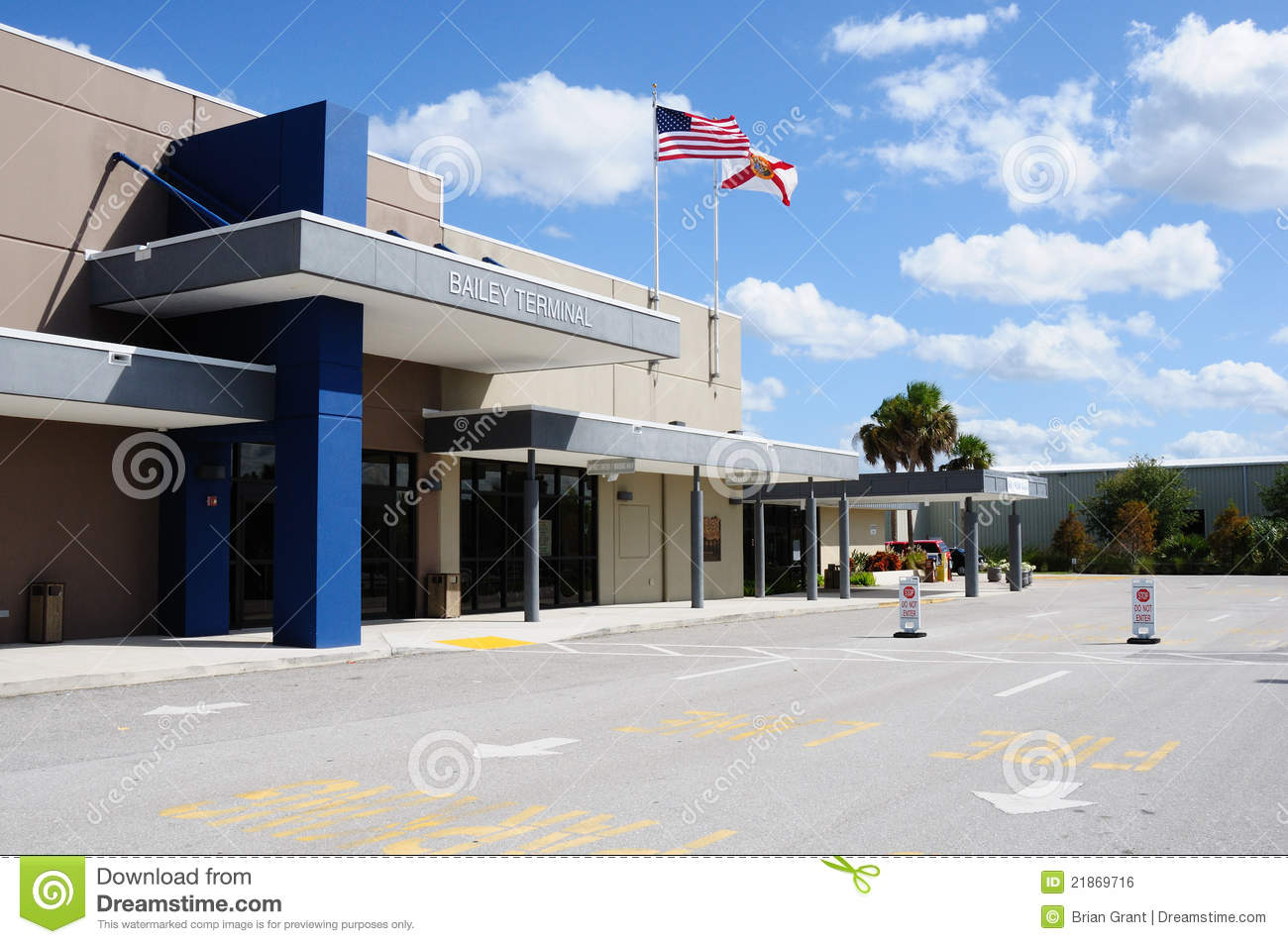 Charlotte County Airport Royalty Free Stock Image Image