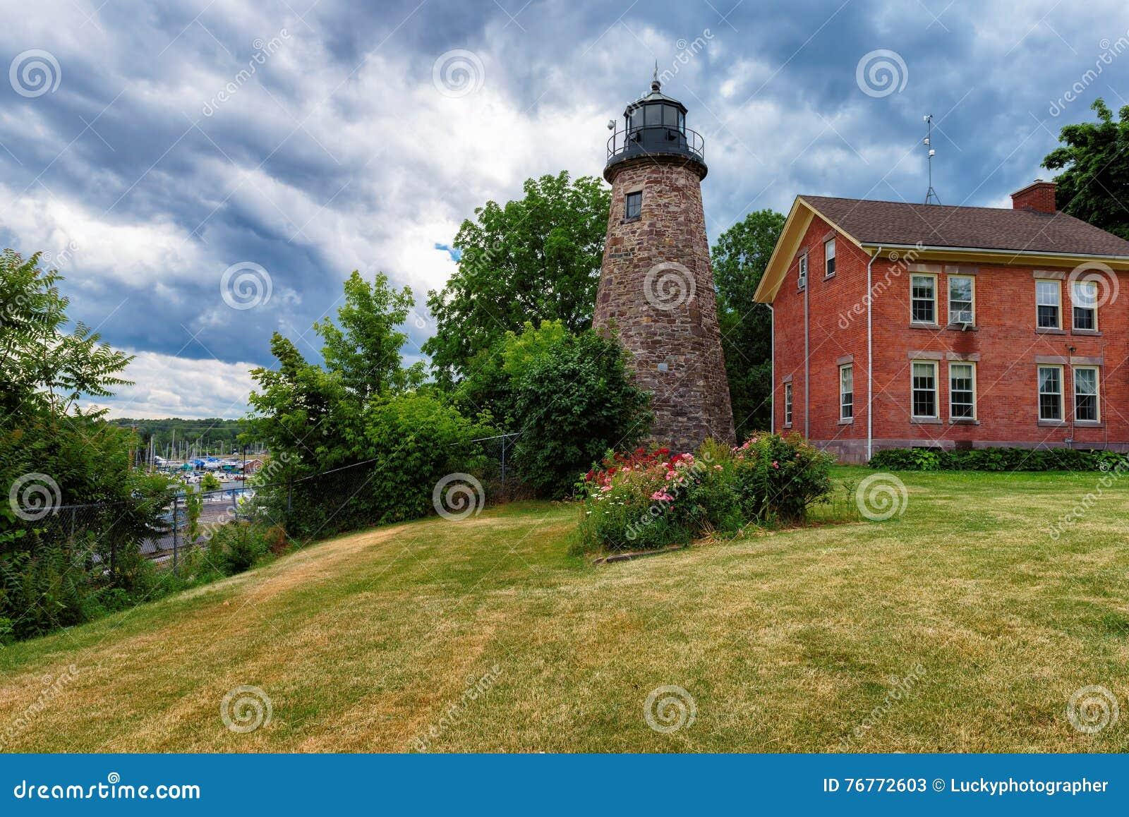 Charlotte Genesee Lighthouse Lake Ontario i Rochester