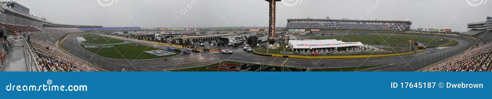 Charlotte Motor Speedway NASCAR Turn One Panarama
