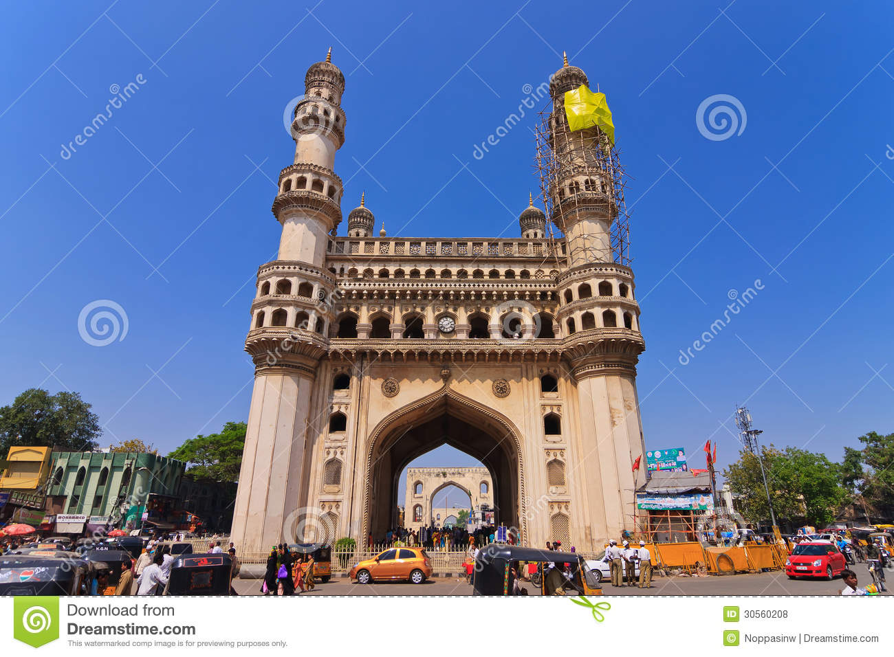 charminar hyderabad editorial stock photo image of religion 30560208. Black Bedroom Furniture Sets. Home Design Ideas
