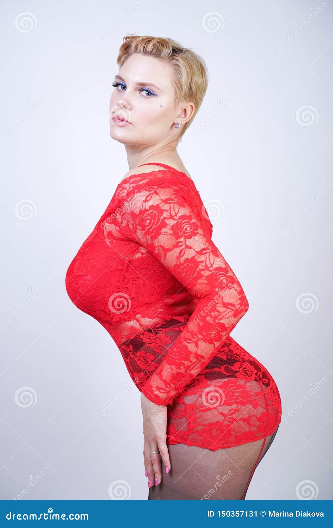 Curvy Blonde Dirty Talk