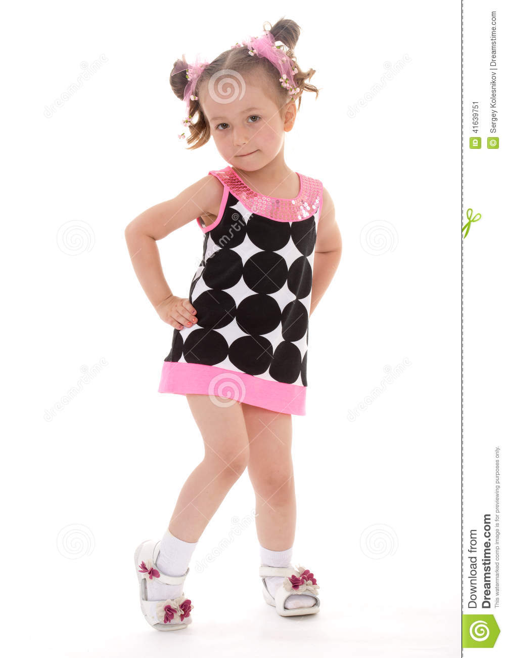 Consider, that very young little girls dress pity, that