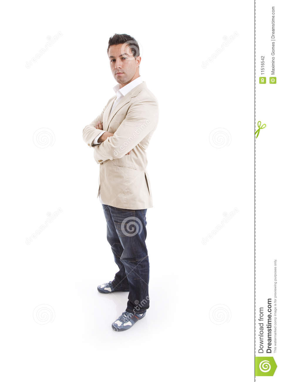 Download Charming man stock photo. Image of adult, executive, confident - 11516542