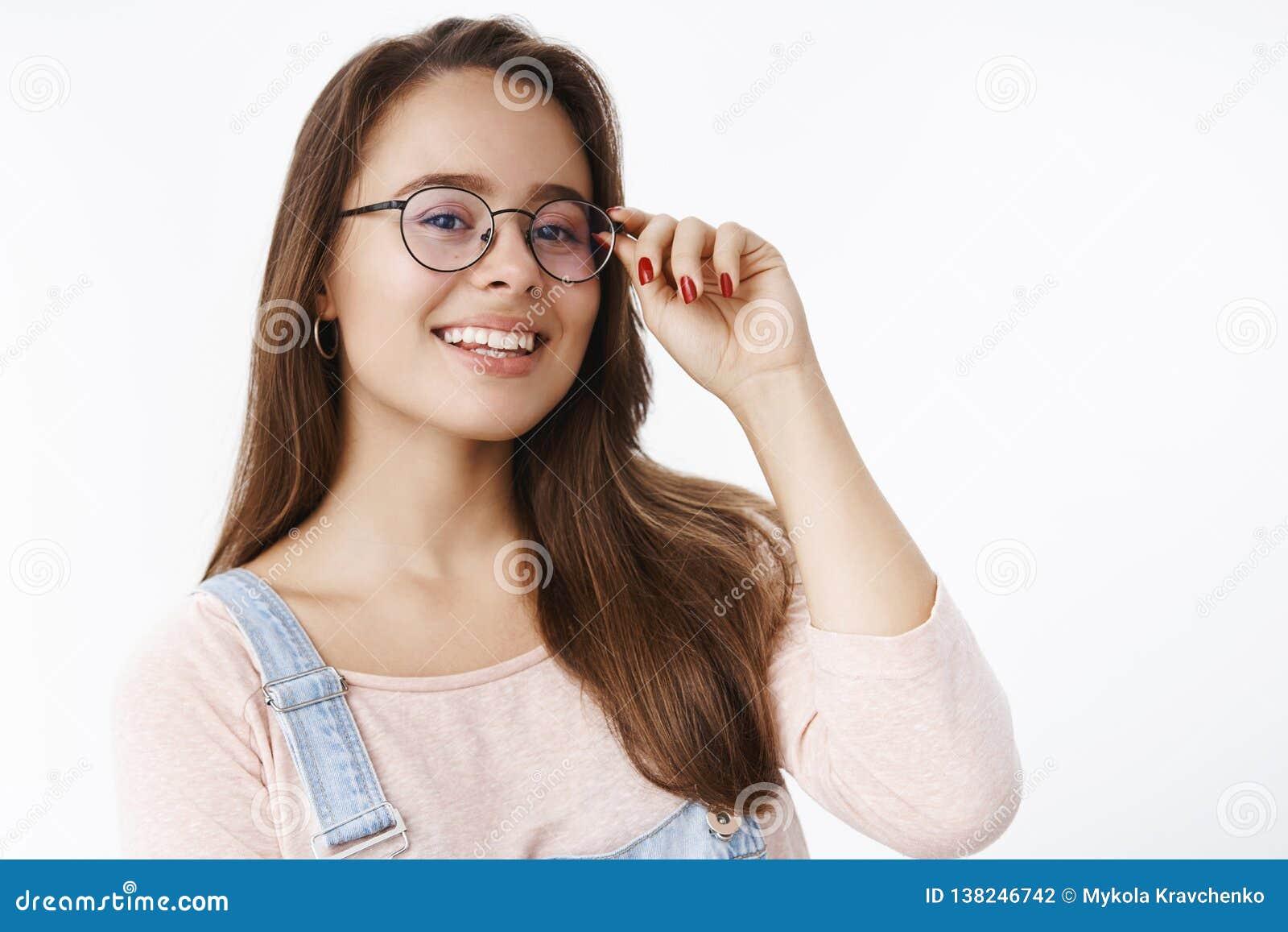 Asian Girl Glasses Webcam