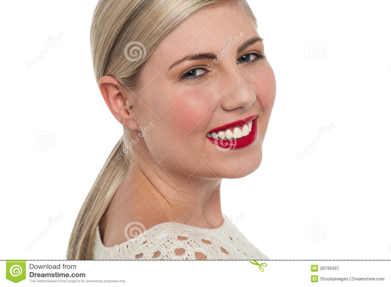 Charming teen model flashing toothy smile royalty free stock photography image 28796397 - Charming teenage girls image ...
