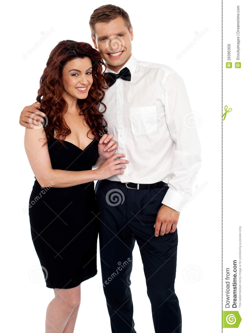 Charming young love couple hugging each other. Charming Young Love Couple Hugging Each Other Royalty Free Stock