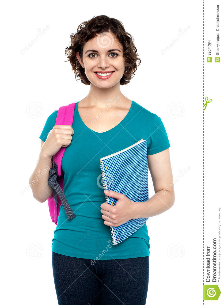 Charming young university girl stock images image 29071384 - Charming teenage girls image ...