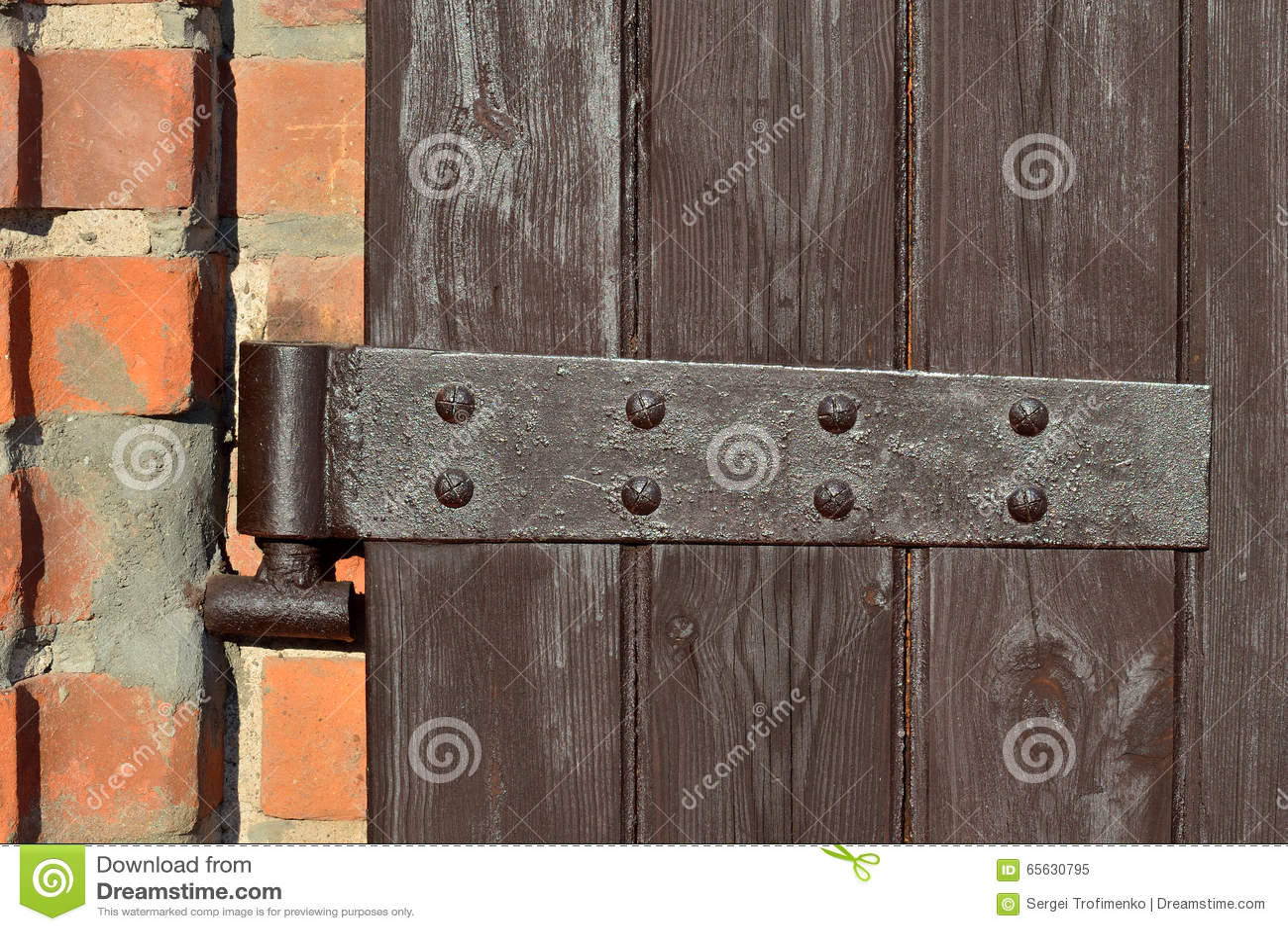 Charnière de porte antique
