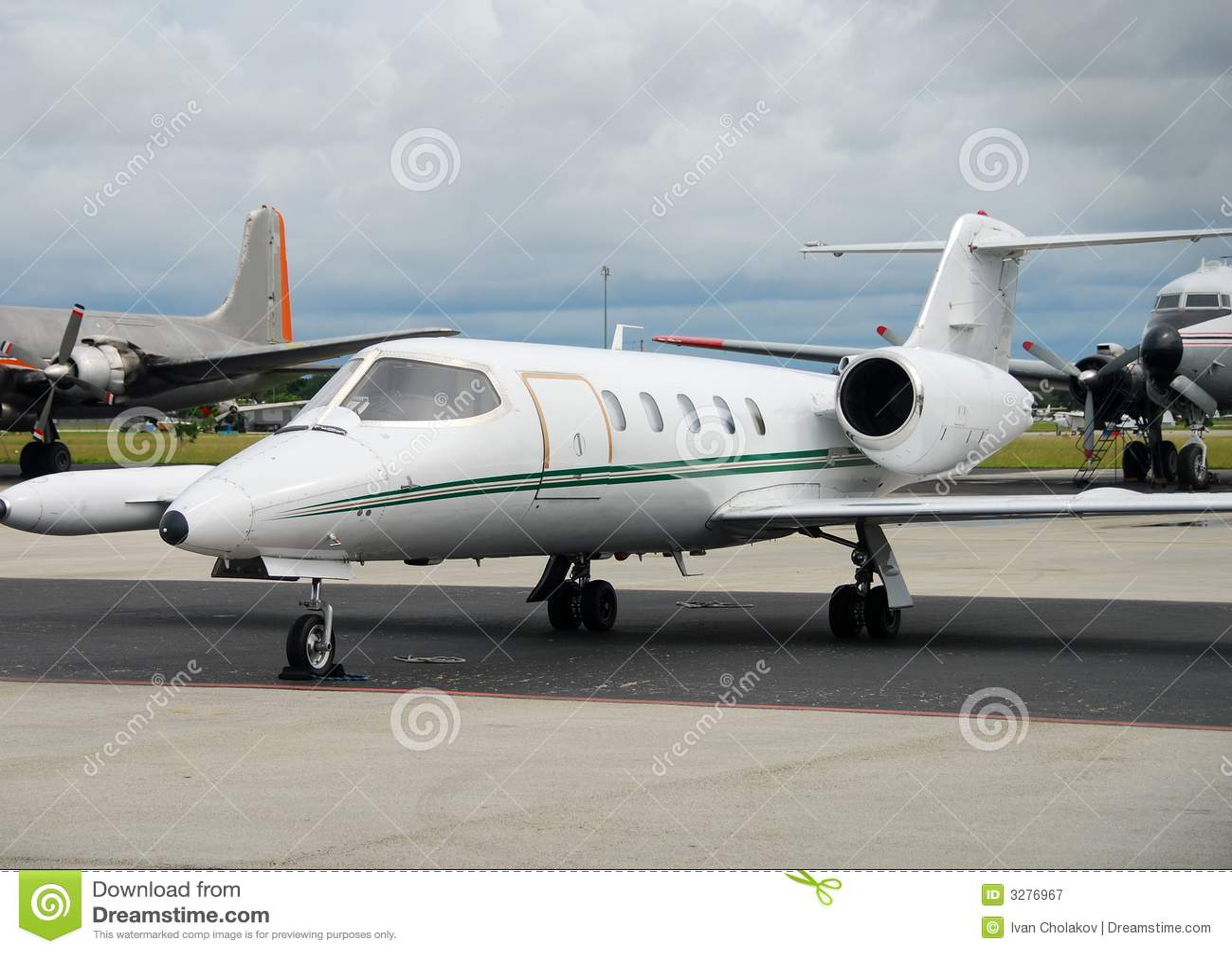 Charter airplane