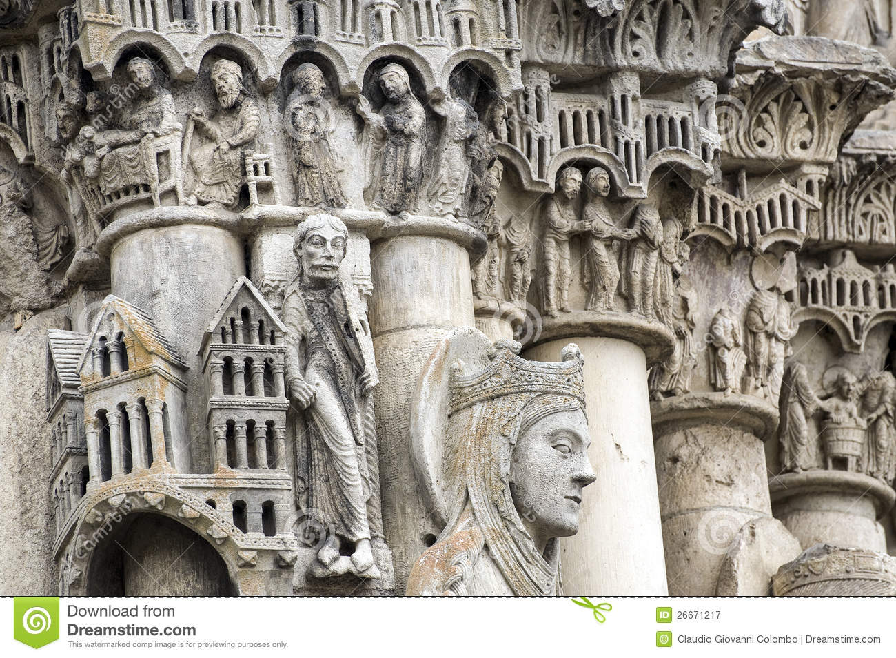 Chartres - Cathedral Royalty Free Stock Photography - Image: 26671217