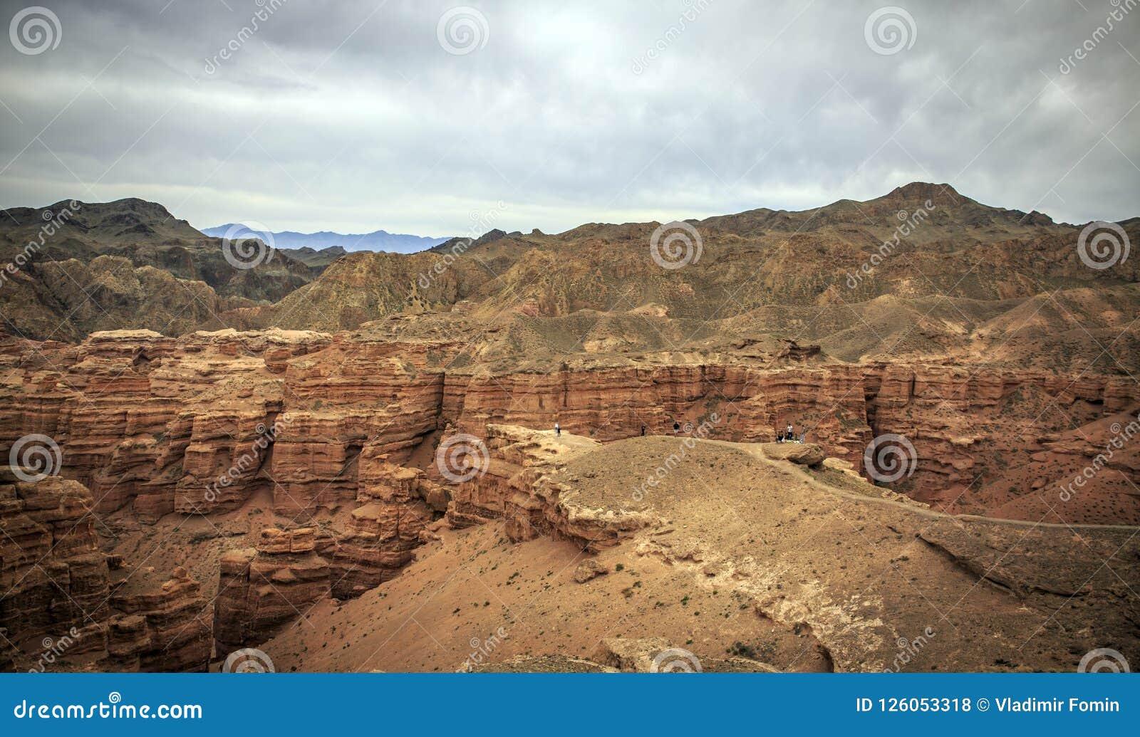 Charyn Canyon.