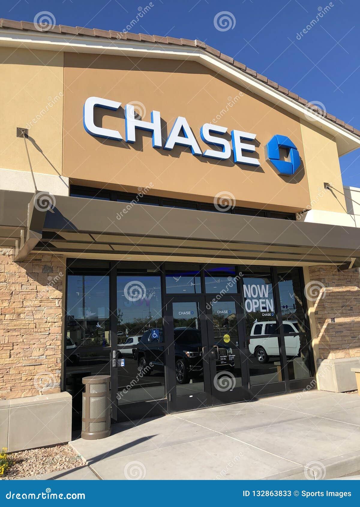 Chase Bank  editorial stock photo  Image of generosity - 132863833