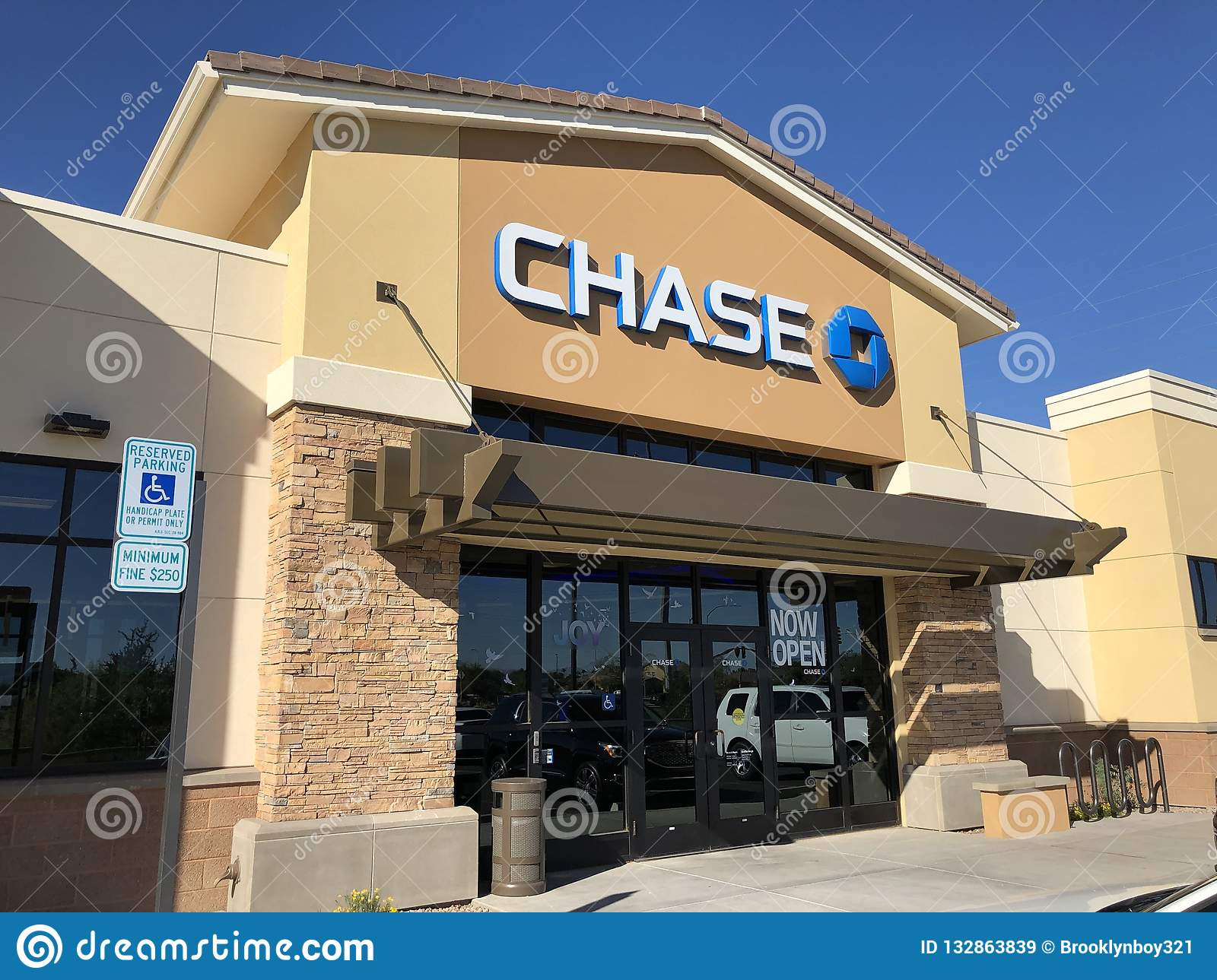 Chase Bank  editorial stock image  Image of honesty - 132863839