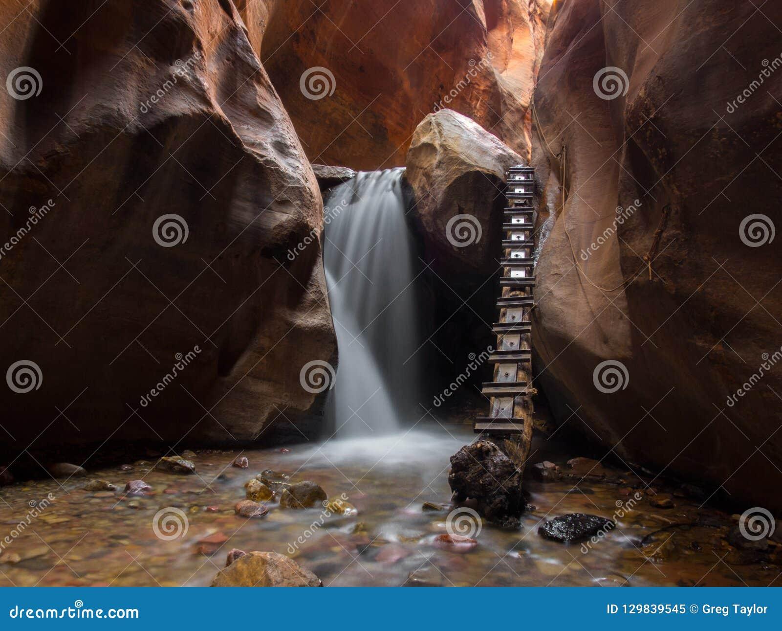 Chasse des cascades en Utah du sud