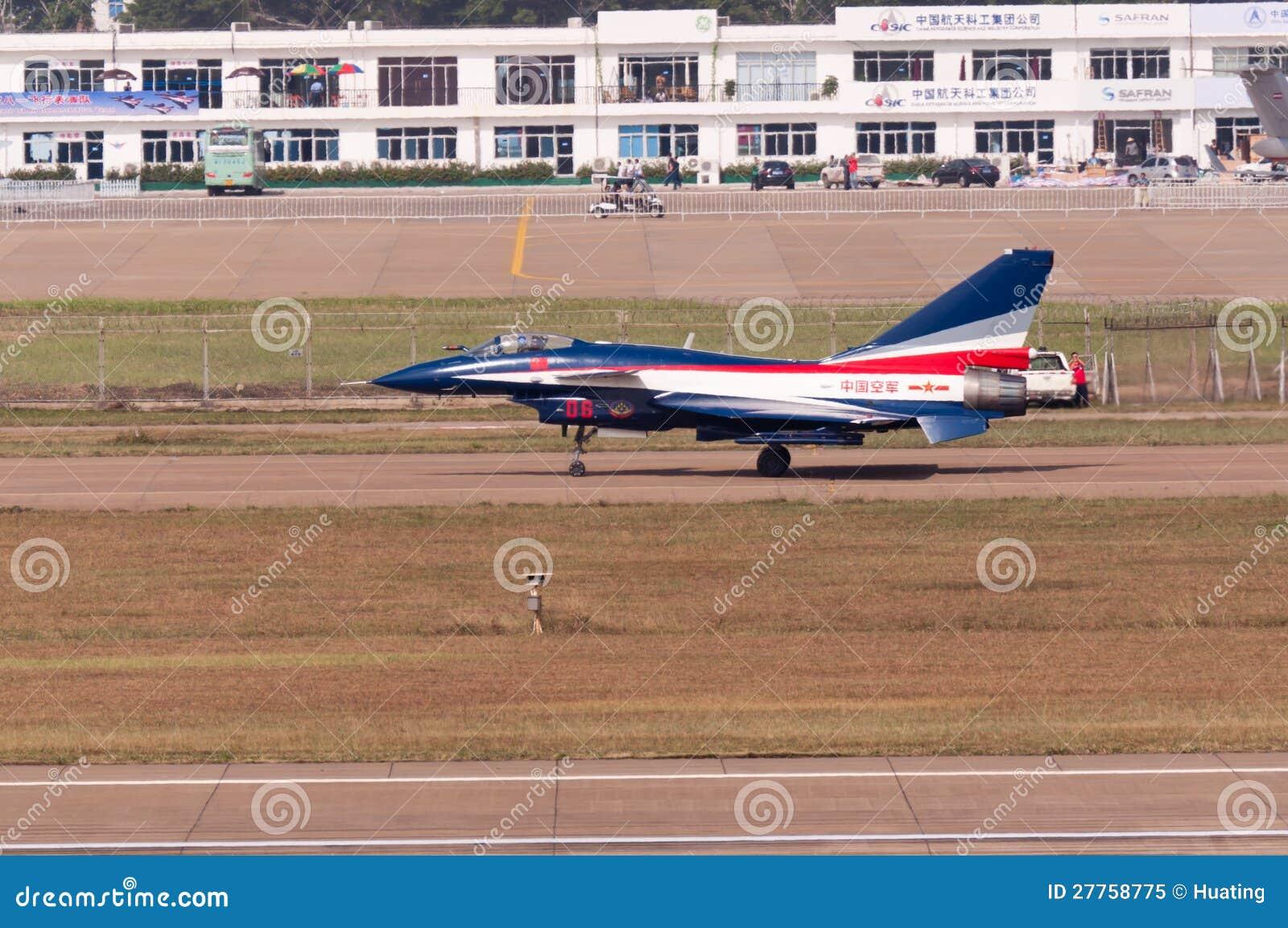 Chasseur neuf d intercepter de la Chine - J-10