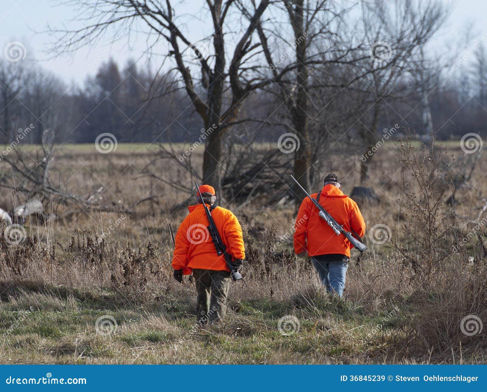 Chasseurs de cerfs communs
